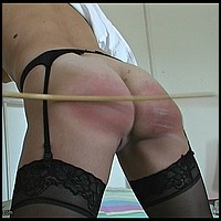 SchoolGirls Caned!